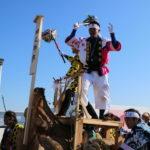 【沙田神社の御柱祭】諏訪大社だけじゃない!松本にもあった御柱の山出し