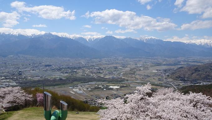 長峰山山頂からの絶景