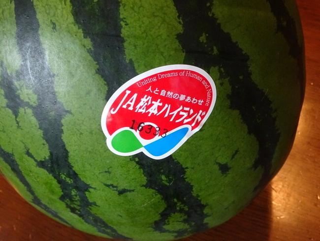 JA松本ハイランドのすいか