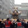 富岡八幡宮の例大祭(水かけ祭り)に参加しました