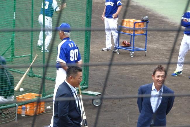 松本市民球場で巨人vs中日