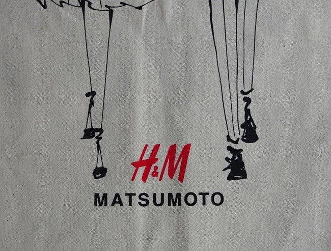 H&Mのトートバッグ