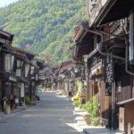【奈良井宿】江戸時代の町並みが続く中山道の宿場町