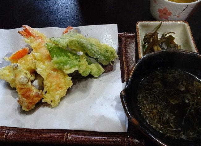 福伝の天ぷら