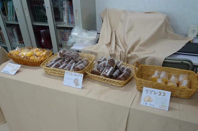 焼き菓子の即売会