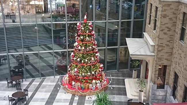 イオンモール松本のクリスマスツリー
