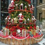 イオンモール松本のクリスマスツリーは去年と同じでガッカリ