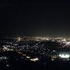 千曲川展公園&姨捨駅から見る夜景