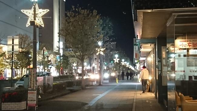 松本市内のイルミネーション