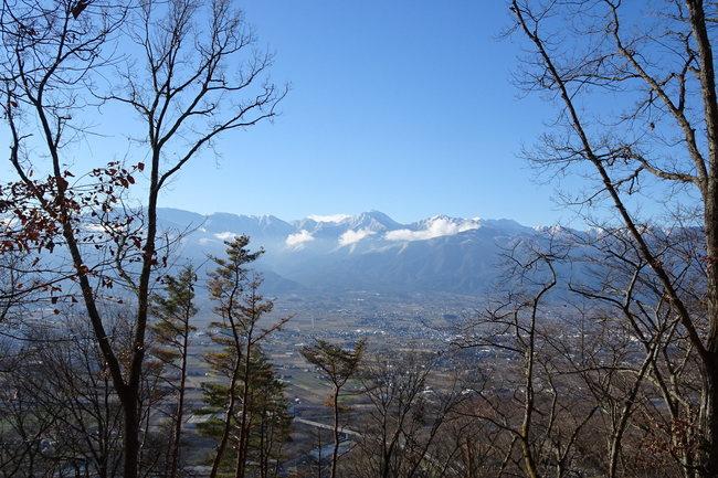 光城山から見た北アルプス