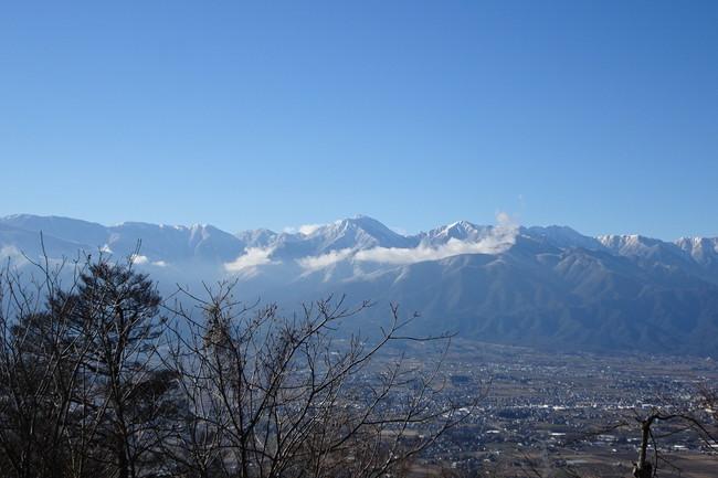 光城山の頂上