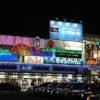 毎年代わり映えしない松本駅前のイルミネーション2018