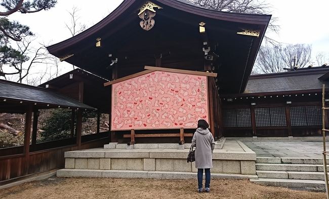 長野県護国神社内の絵馬