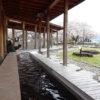 諏訪湖湖畔公園の足湯