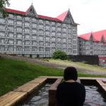 奥白馬温泉ホテルグリーンプラザ白馬の足湯