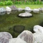 小谷村姫川温泉の足湯