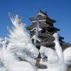 国宝松本城氷彫フェスティバル2019、今年も無事開催しました!