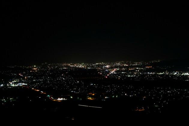 姨捨の夜景
