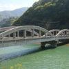 小谷村の橋と鉄橋はまるで映画「マジソン郡の橋」